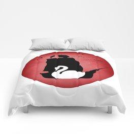 CAPTAIN SWAN (Red) Comforters