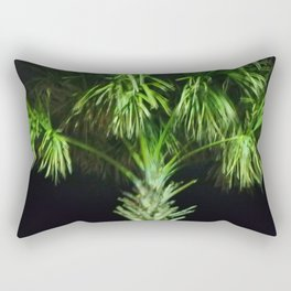 Trippy Palms Rectangular Pillow