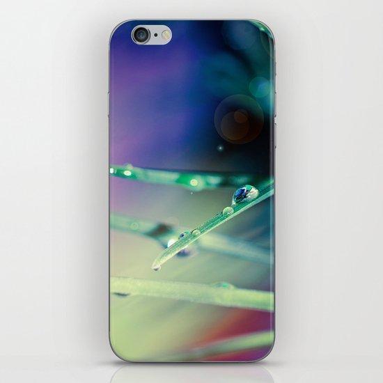 Blue Drops iPhone & iPod Skin