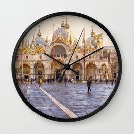 Saint Mark's Basilica, Venice (Italy) Wall Clock