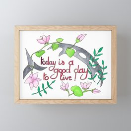Good day to .. Framed Mini Art Print