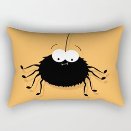 Big Black Spider Rectangular Pillow