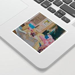 Golden Girls living room Sticker