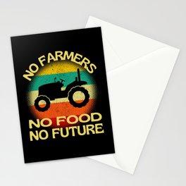 No Farmers No Food No Future Stationery Cards