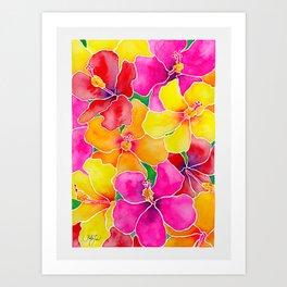 Hawaiian Hibiscus  Art Print
