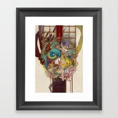 bakeneko Framed Art Print