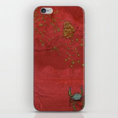 The Crab and the Monkey iPhone & iPod Skin