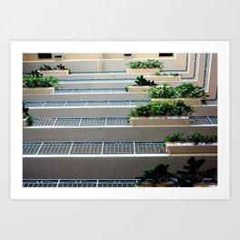 hotel daydream Art Print