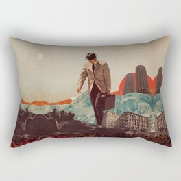 Leaving Their Cities Behind Rectangular Pillow