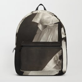 Frida Kahlo, First Communion by Guillermo Kahlo Backpack