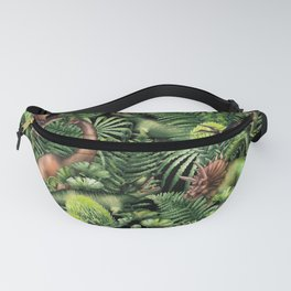 Watercolor Dinosaurs Fanny Pack
