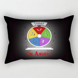 I am Angry Rectangular Pillow