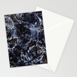 """Number 5"" Abstract Painting by Mark Compton Stationery Cards"