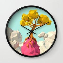 sky tree Wall Clock