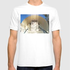 Worship Me NOW! Mens Fitted Tee White MEDIUM