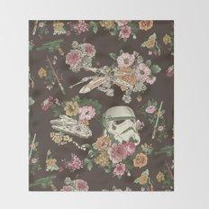 Botanic Wars Throw Blanket