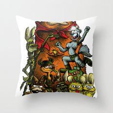 Balsley's Comix (poster) Throw Pillow