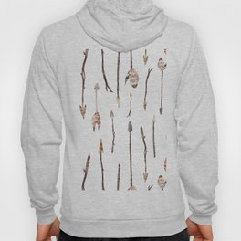 Boho Arrows with Feathers Hoody