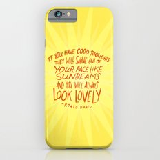 Roald Dahl on Positive Thinking Slim Case iPhone 6s