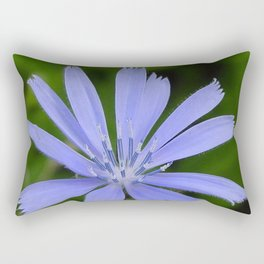 Cornflower Blue Rectangular Pillow