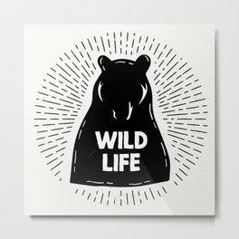 Wild Life Metal Print