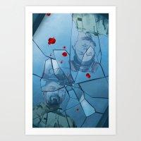 breaking Art Prints featuring Breaking Bad by Steven P Hughes