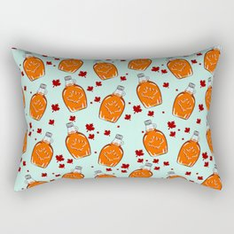 Super Canadian Maple Syrup Pattern Rectangular Pillow
