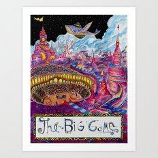 The Big Game Art Print