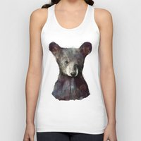 amy Tank Tops featuring Little Bear by Amy Hamilton