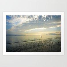 Sunrise Solitude Art Print