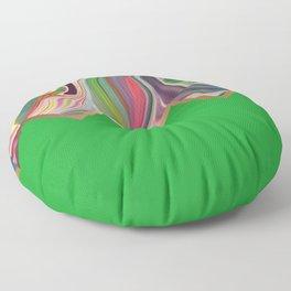 Emerald Razz Floor Pillow
