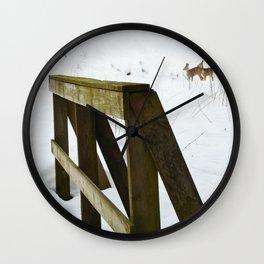 Rådyr Wall Clock