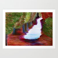 Captivated Forest Art Print