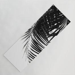 Palm Leaves Black & White Vibes #1 #tropical #decor #art #society6 Yoga Mat