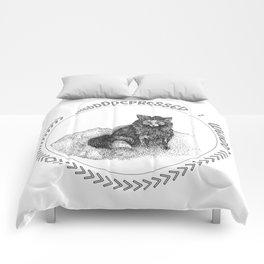 Depressed Weirdo Fox Comforters
