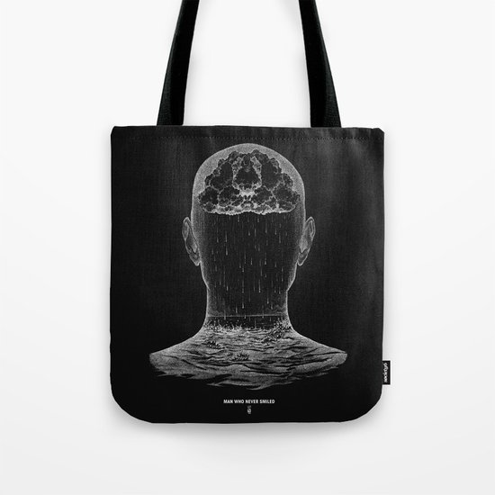 man who never smiled II Tote Bag