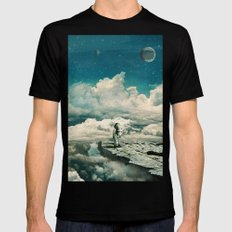 The explorer Black LARGE Mens Fitted Tee
