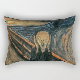 The Scream by Edvard Munch Rectangular Pillow