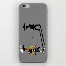 Fast shadow - OUPS - grey version iPhone & iPod Skin