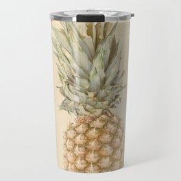 Pineapples On A Vintage Mood #decor #society6 #buyart Travel Mug