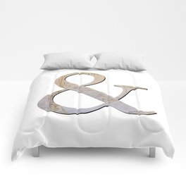 French Ampersand Comforters