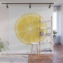 Lemon Wall Mural