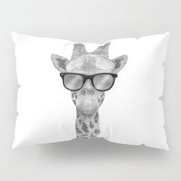 Hipster Giraffe Pillow Sham