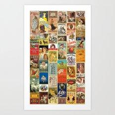 Wallpaper 2 Art Print