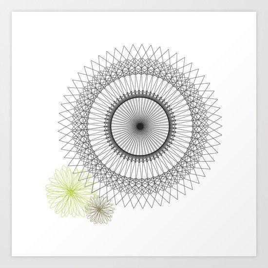 Modern Spiro Art #2 Art Print