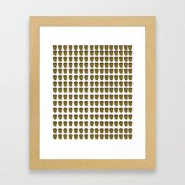 Mateo Leggings Framed Art Print