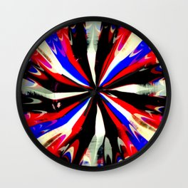 Pattern #6 - Bold Stripes Wall Clock