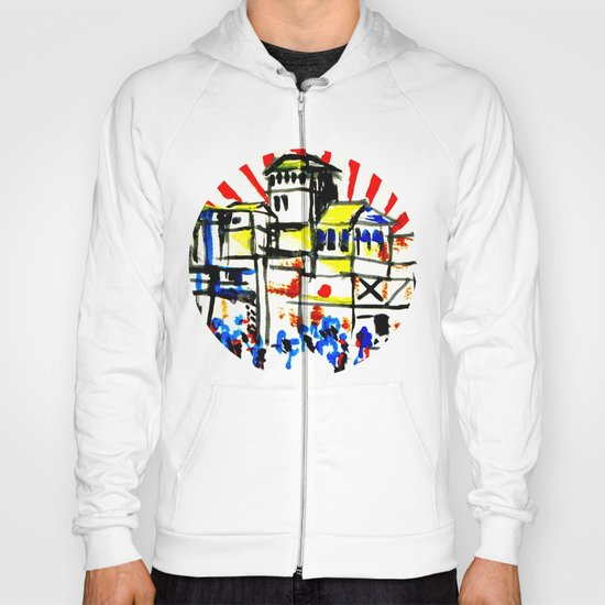 Japan and the  flag  Hoody