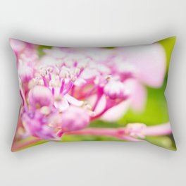 hortensie traum in pink Rectangular Pillow