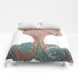 cutest octopus Comforters